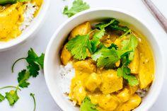 Koolhydraatarm: Bloemkool rijst met kip kerrie | Freshhh