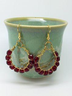 Red earrings, red earrings for prom, red earrings chandelier red earrings stud, red earrings outfit