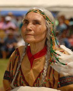 Haliwa-Saponi woman