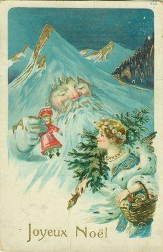 Fantasy Santa Claus Mountain