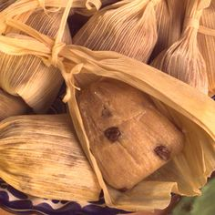 TAMALES DULCES.-