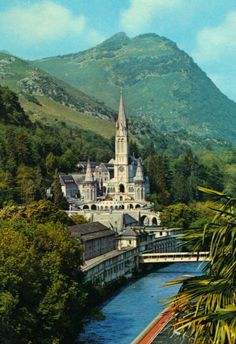 France Travel Inspiration - The sanctuary of Lourdes, France. ♡