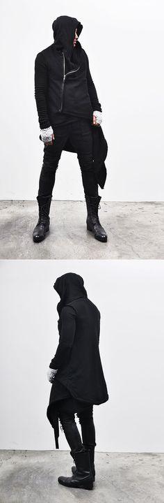 Speaks to the amime nerd inside me Avant-garde Haute Couture Hood Coat-Hoodie 28