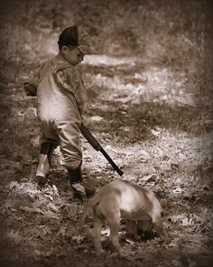 start them YOUNG. They will have more respect and appreciation for life than those who don't hunt at all