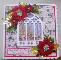Handmade Christmas, Advent Calendar, Christmas Cards, Blessed, Decorations, Holiday Decor, Frame, Design, Art