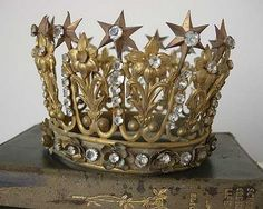 I'll wear my vintage French crown while I'm there.
