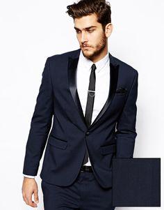 ASOS Slim Fit Tuxedo Suit Jacket