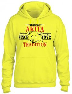 Authentic Akita Tradition HOODIE