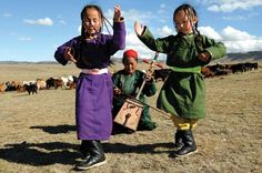 Mongol children were taught how to ride and as soon as they could walk. Also they were taught how to herded at a very young age.