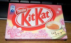 Milk Coffee flavour - Kit Kat Japan by kalvin1974, via Flickr