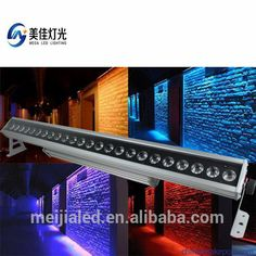 outdoor waterproof 24x10w 4in1 RGBW lamp breads led wall washer
