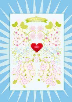 """Wer war doch gleich die Tante der Braut?    Der romantischste """"Gästestammbaum"""" aller Zeiten: das Who is Who der Hochzeitsfeier. Brautpaar und Gäste kleben ihre Passbilder auf das Hochzeitsplakat. Alle haben Spaß und jeder weiß Bescheid."""