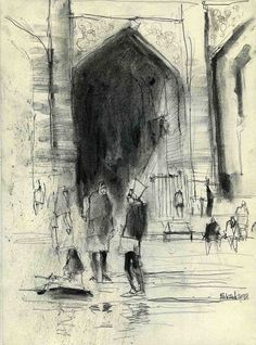 Urban Sketchers: Old subjects, new viewpoints (1)