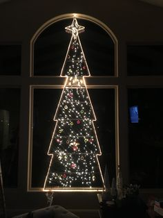 Iron Christmas Tree
