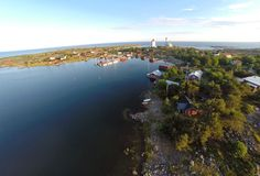 In the photo above, you can see the small, picturesque village of Utö on a calm summer evening, but what you can not see is the old station of the Defence Forces, where also the new guest harbour has been built. Phantom 2, Summer Evening, Finland, Sailing, Contrast, River, Outdoor, Candle, Outdoors