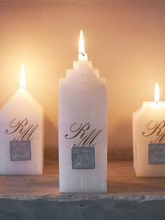 Love these Amsterdam Canal House candles