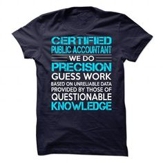 Awesome Shirt For Certified Public Accountant T-Shirts, Hoodies (21.99$ ==► Shopping Now!)