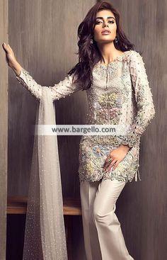 Elan by Khadijah Shah Dresses Matawan New Jersey NJ US Pakistani Designer Party Dresses D5465 Party Wear