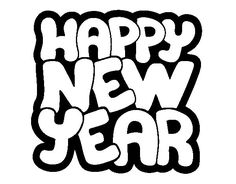 cute happy new year coloring pages 2019 happy new year 2019 new year 2018