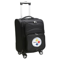 NFL Pittsburgh Steelers Mojo Carry-On Spinner Luggage