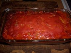 Meatloaf made with C