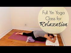 Full Yin Yoga Class for Relaxation | ChriskaYoga - YouTube