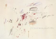 i have known the nakedness of my scattered dream, cy twombly