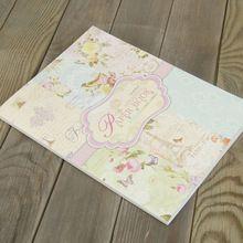 44.5 x 30.5 cm mariposa fresco jardín modelo de scrapbooking del arte de papel recubierto decorationbook set w / 24 hoja / lot(China (Mainland))