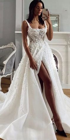 Lace Ball Gowns, Ball Gowns Evening, Ball Gowns Prom, Ball Gown Dresses, Evening Dresses, Unique Wedding Gowns, Princess Wedding Dresses, Best Wedding Dresses, Bridal Dresses