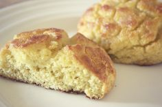 Coconut Flour Biscuits Recipe Breads with coconut flour, butter, eggs, baking soda, salt, raw honey