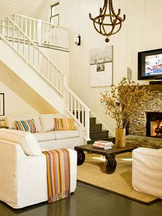Modern Furniture: 2013 Country Living Room Decorating Ideas From BHG