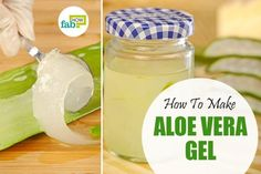 How To Make Aloe Vera Gel
