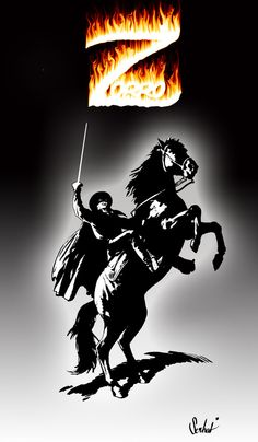 Zorro by crazydiomond.deviantart.com