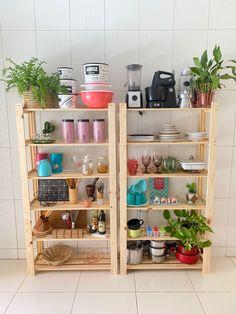 Kitchen Room Design, Home Room Design, Home Decor Kitchen, Diy Home Decor, Kitchen Organisation, Diy Kitchen Storage, Rental Kitchen Makeover, Home Curtains, Love Home