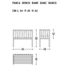 BLOOMINGTON | Banco para niños By Riva 1920 diseño Terry Dwan