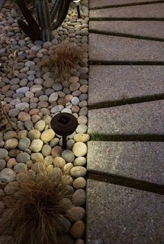 Casa López / Lujano, cool pavers, concrete, size and shape, outdoor lighting Modern Landscape Design, Modern Landscaping, Outdoor Landscaping, Landscape Architecture, Outdoor Gardens, Landscaping Ideas, Landscape Lighting, Outdoor Lighting, Outdoor Decor