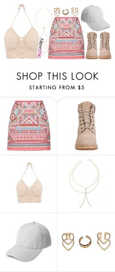 """1121."" by adc421 on Polyvore featuring Accessorize, Timberland, Boohoo and Diane Kordas"