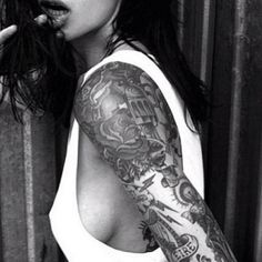 #tattoo #girl #arm