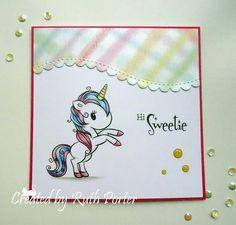 Unicorn Cards, Stamp, Home Decor, Room Decor, Stamps, Home Interior Design, Decoration Home, Home Improvement