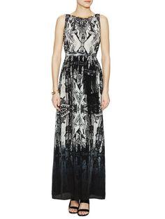 Silk Tassel Tie Maxi Dress by Twelfth Street by Cynthia Vincent