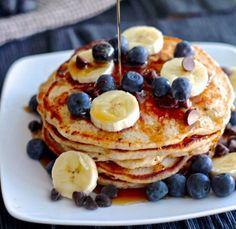 Chocolate Chip Banana Pancakes [RECIPE]