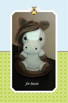 Pattern used: Lucky the Horse from littlemuggles.com