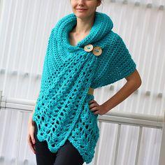 Crochet pattern Women crochet pattern Crochet wrap pattern