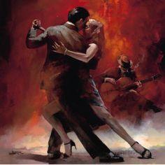 Tango argentin II Affiches par Willem Haenraets sur AllPosters.fr