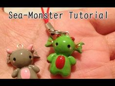 Sea Monster Charm Tutorial - YouTube