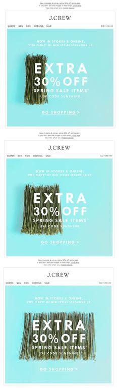 ✖ j crew email