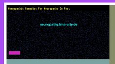 Patrick Daughlin posted Homeopathic remedies for neuropathy in feet. Views 123932.