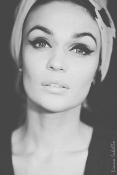 alena vodonaeva, amazing, beautiful, eyeliner, fashion - inspiring picture on Favim.com