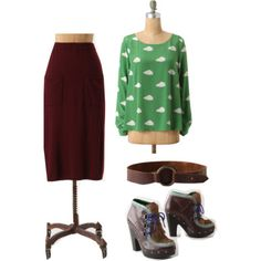 Behind The Dressing Room Door: Head To Toe In Anthro | Catalog Outfits | October 2011