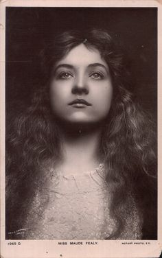 Maude Fealy (1883 – 1971) was an American stage and film actress who appeared in nearly every film made by Cecil B. DeMille in the post silent film era.